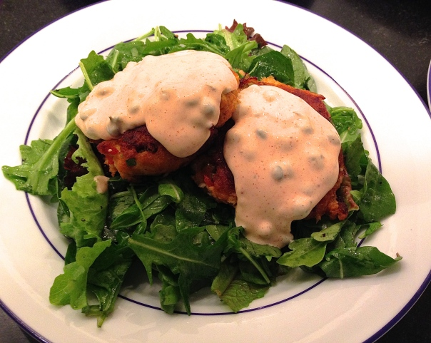Crab Cakes with Sauce Remoulade
