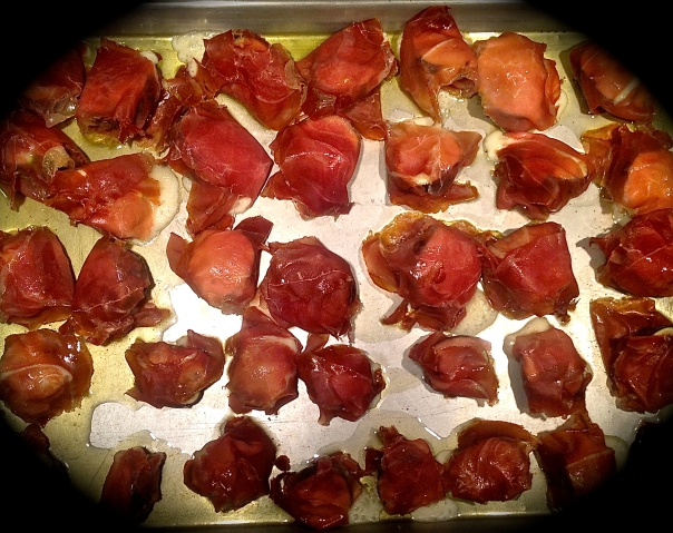 Roasted Figs with Tallegio & Prosciutto