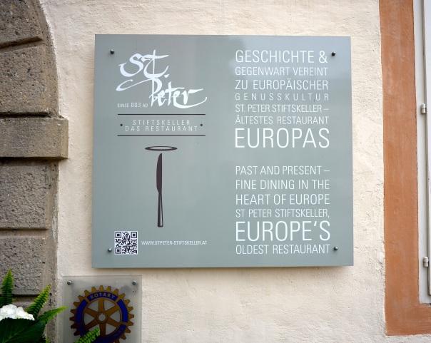 Europe's Oldest Resturant