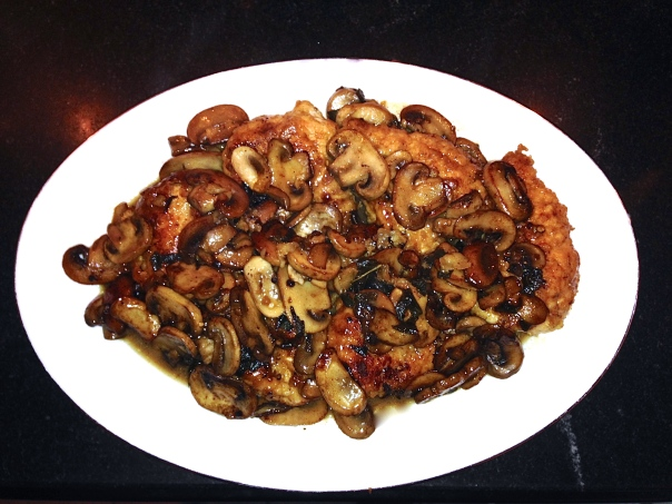 Chicken Marsala with Mushrooms